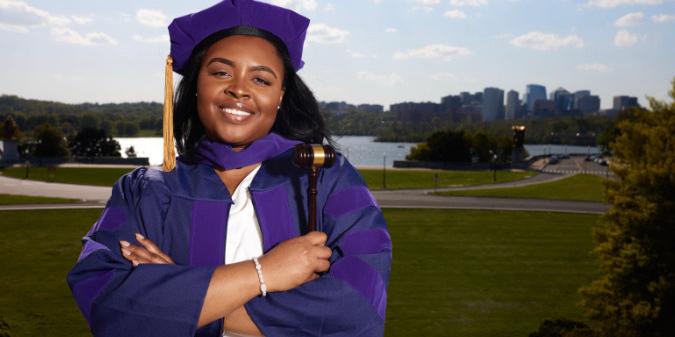 Alexis Hawkins, a Job Corps grad, recently completely law school.