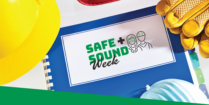 Safe and Sound Week, August 9-15, 2021