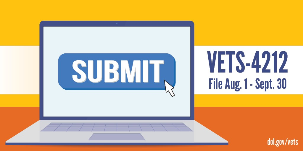 VETS-4212 filing reminder